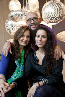 Karin Willems and other founders of Zenza, a Dutch producer of home accessories