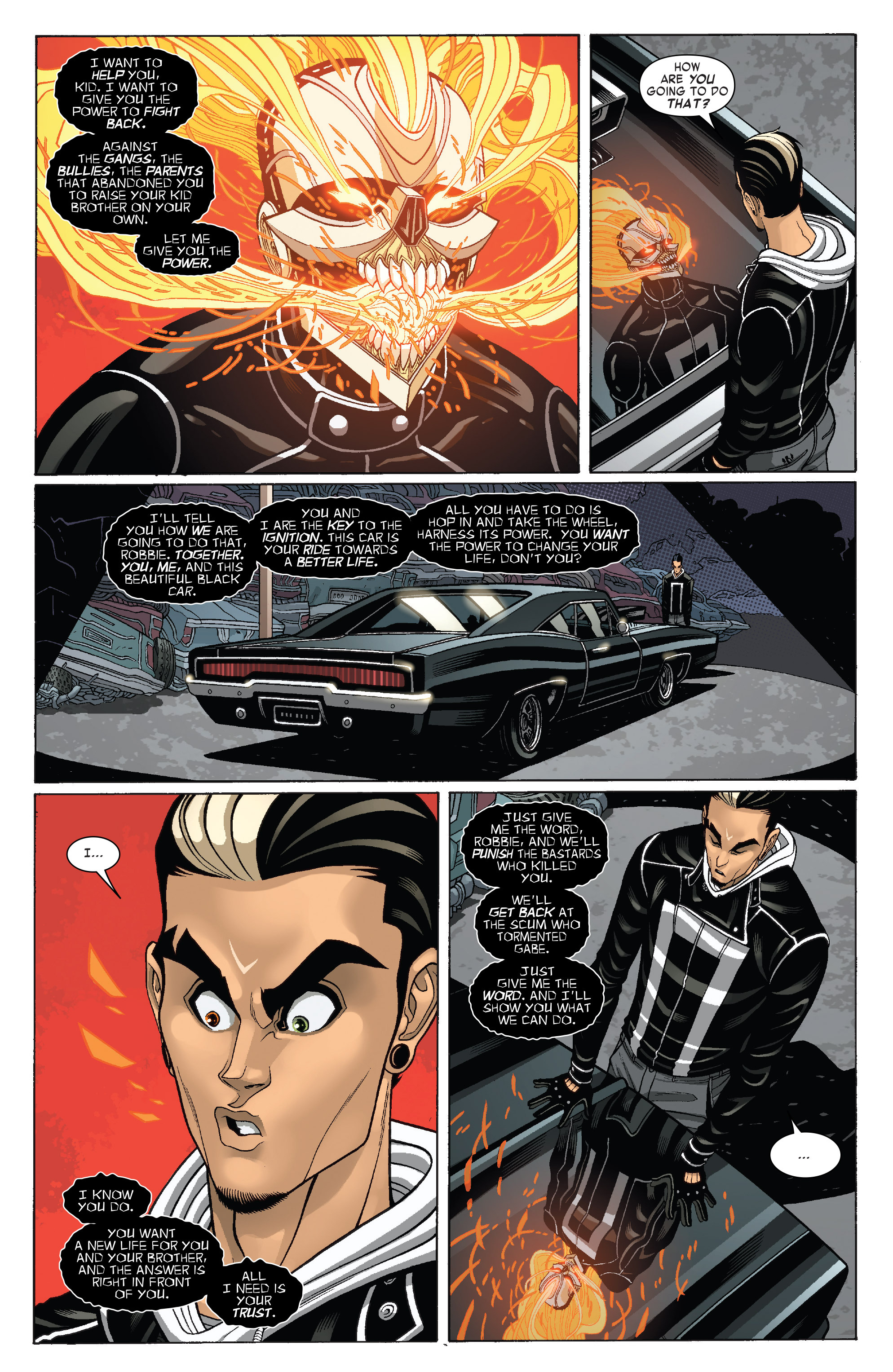 Read online All-New Ghost Rider comic -  Issue #3 - 4