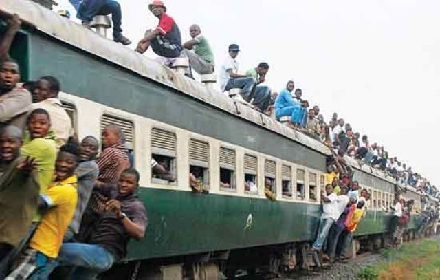 train cut off hand oshodi lagos