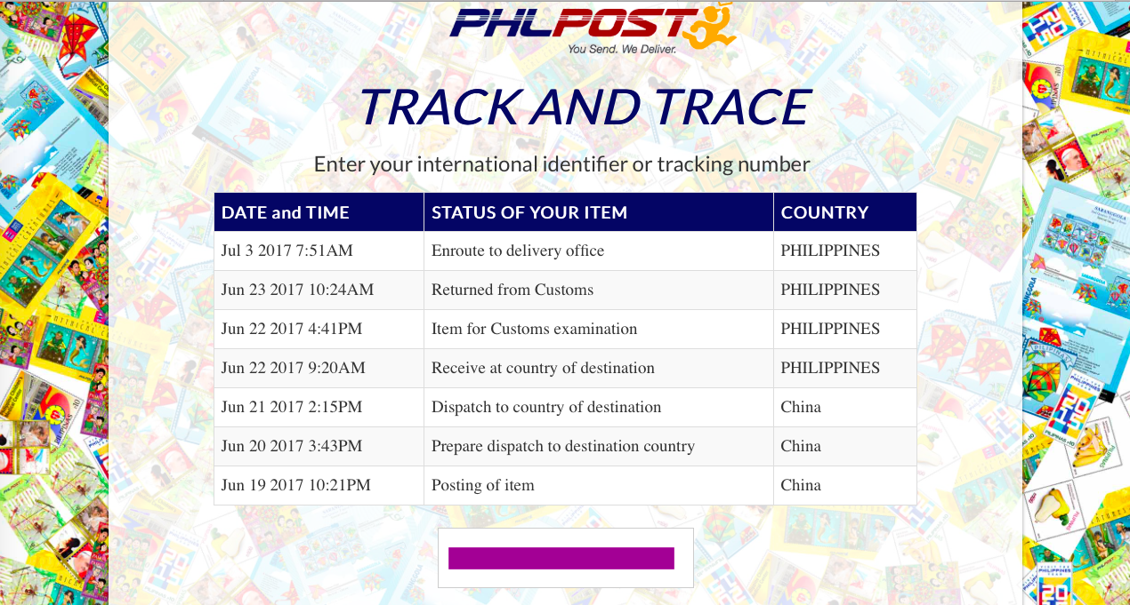 Track registered mails and packages from the philippine - Philippine post office track and trace ...