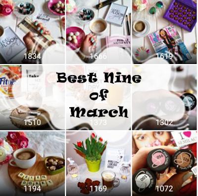 Best Nine of March - Najchętniej lajkowane zdjęcia marca