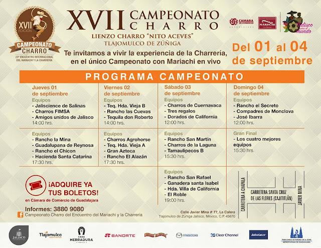 campeonato charro guadalajara 2016