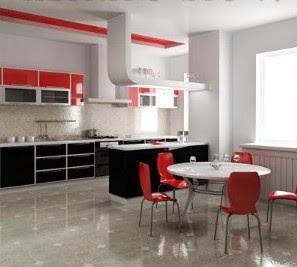 Kombinasi warna kitchenset
