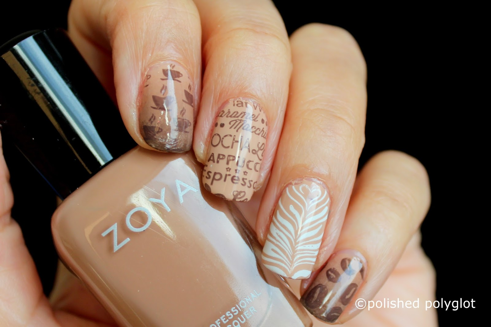 Nail art neutral colors coffee nails nail crazies unite what do you think of these nails do you like neutral color nail polish dont forget to pay a visit to my challenge mates in the list below prinsesfo Images