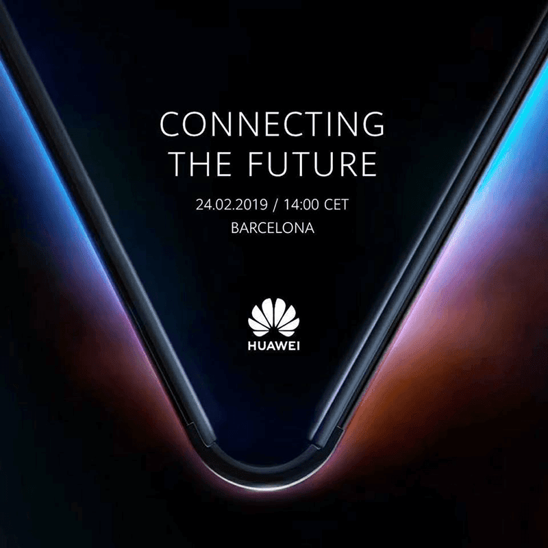 Huawei teases its foldable phone with 5G, will launch on Feb 24!