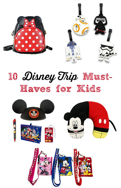 Planning a family vacation to Disney World soon? Then you will definitely want to check out this collection of 10 Disney Trip Must-Haves for Kids.