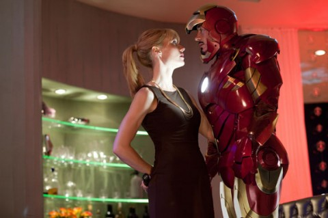 Tony Stark and Gwyneth Paltrow in Iron Man 2 movieloversreviews.filminspector.com