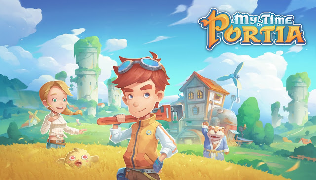 My time at Portia. Living in a builders paradise.