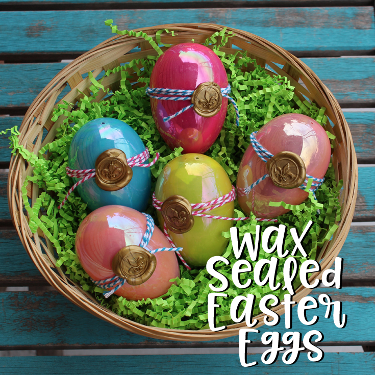 Doodlecraft Wax Sealed Easter Eggs