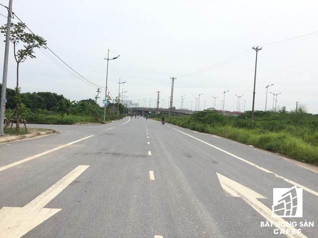 Tuyến đường 5 đi qua gần dự án