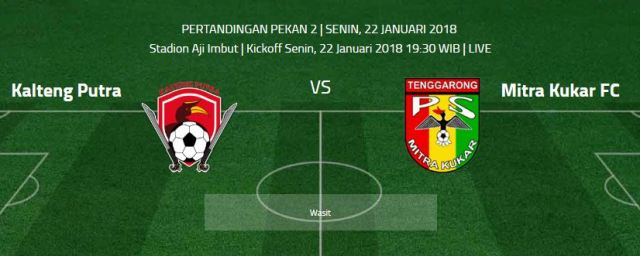 Kalteng Putra vs Mitra Kukar FC
