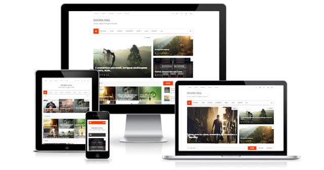 minima mag новостной шаблон для blogger 2017