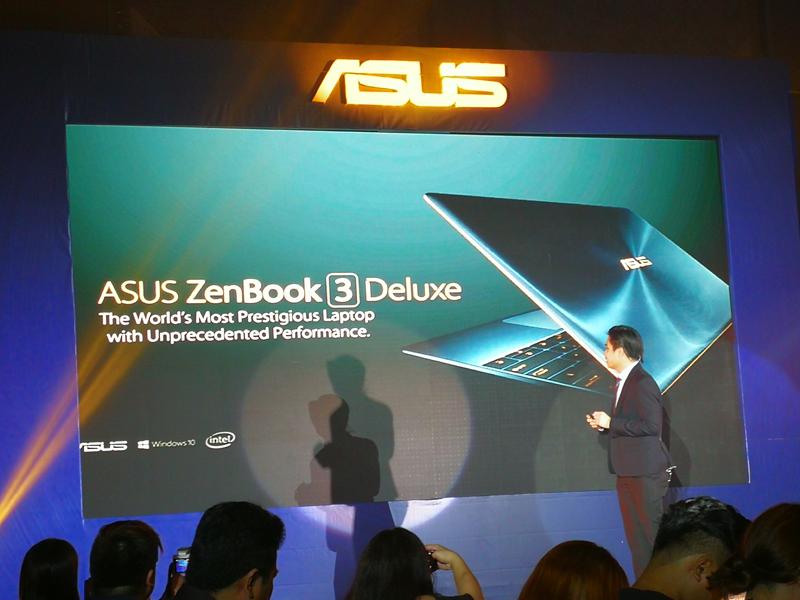 ASUS Zenbook 3 Keynote Session