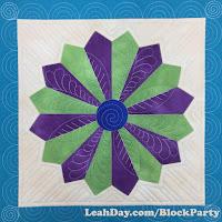 Make Dainty Dresden Plate Quilt Block