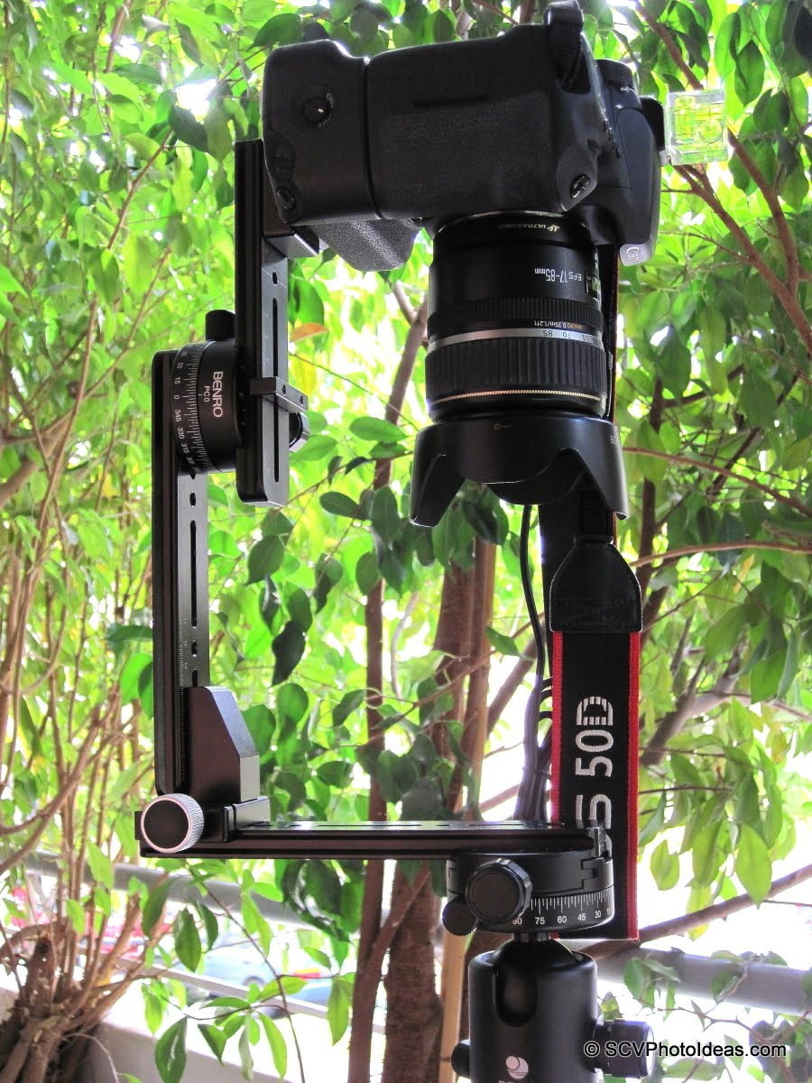 Camera at nadir shooting position detail