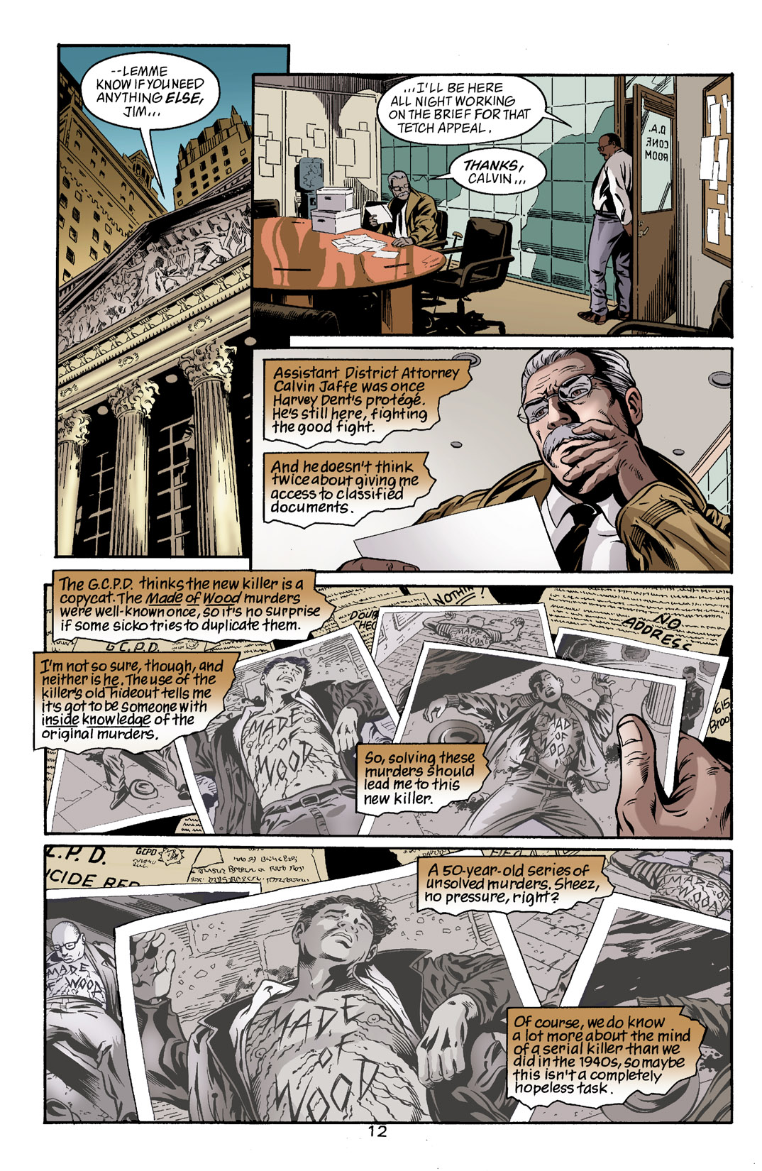 Detective Comics (1937) 785 Page 12