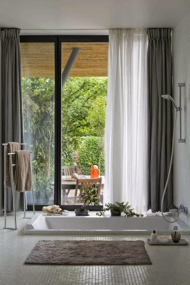 Desain Rumah Kontemporer Kantilever Saling Silang