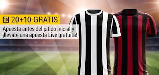 bwin promocion Juventus vs Milan 9 mayo