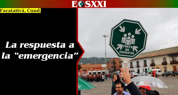 Así se vivió el 7 Simulacro Nacional de Respuesta a Emergencias en Facatativá