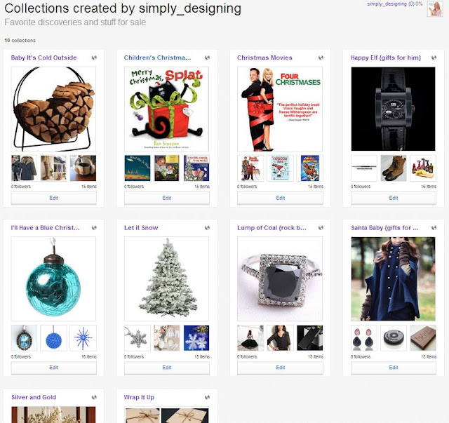 Simply Designing's Collections on eBay | #followitfindit #ad