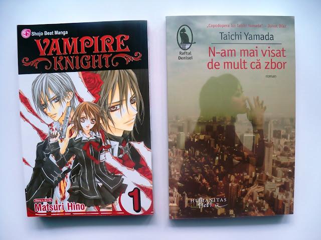 Manga Vampire Knight de Matsuri Hino si N-am mai visat de mult ca zbor de Taichi Yamada