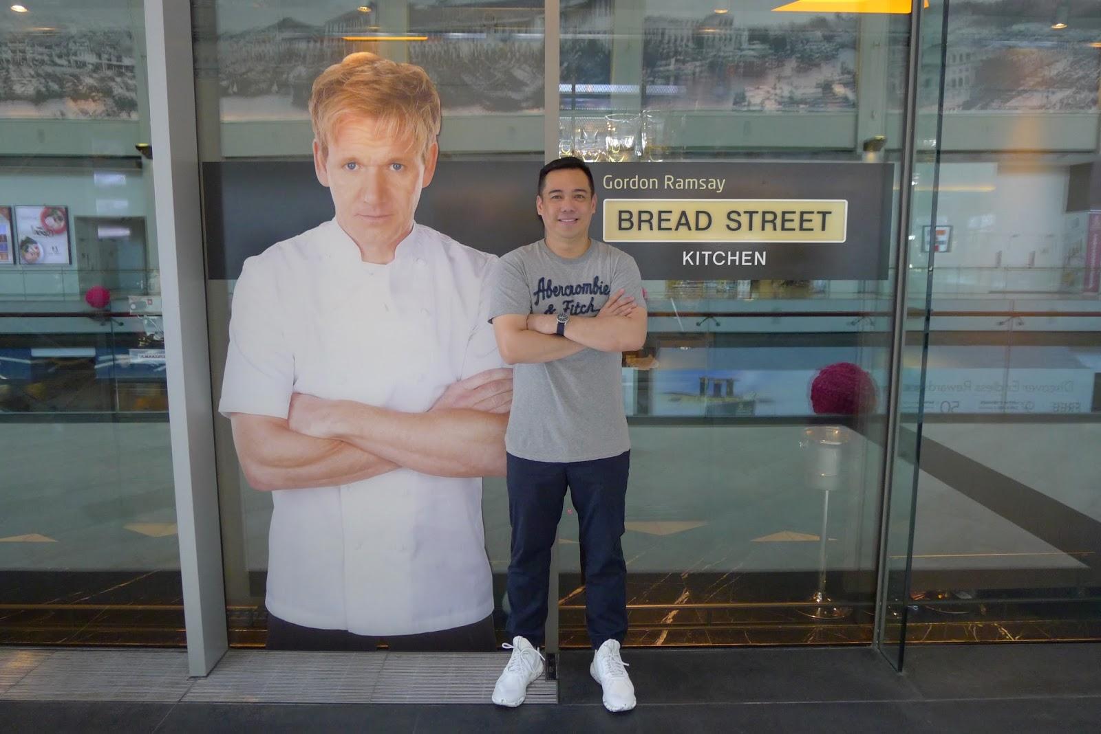 Bread Street Kitchen Singapore By Gordon Ramsay Tina Villa