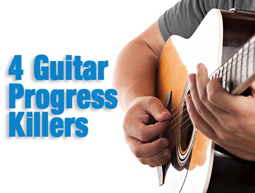 FOUR Guitar Progress Killers... | Creative Guitar Studio