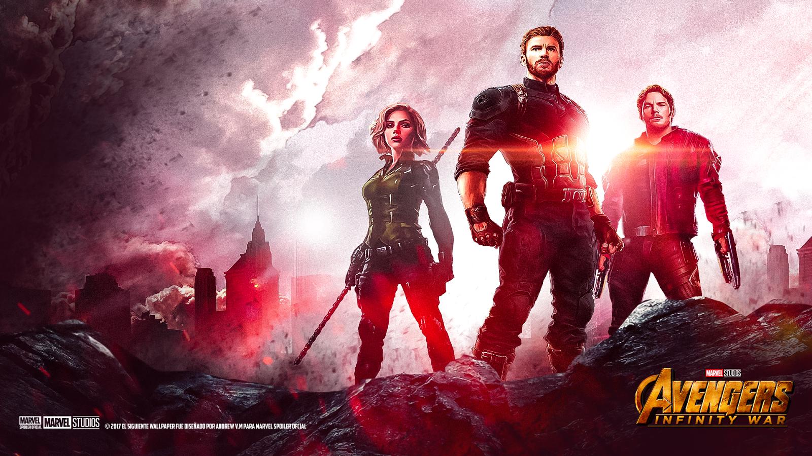 Marvel Spoiler Oficial Avengers Infinity War Wallpaper Hd