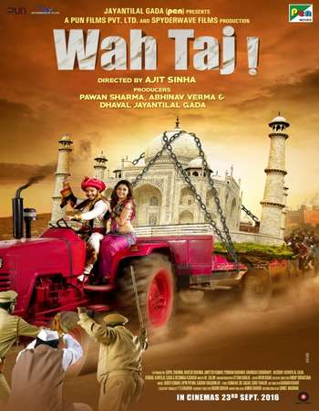 Poster Of Wah Taj 2016 Hindi 700MB CAMRip XviD Watch Online Free Download downloadhub.net
