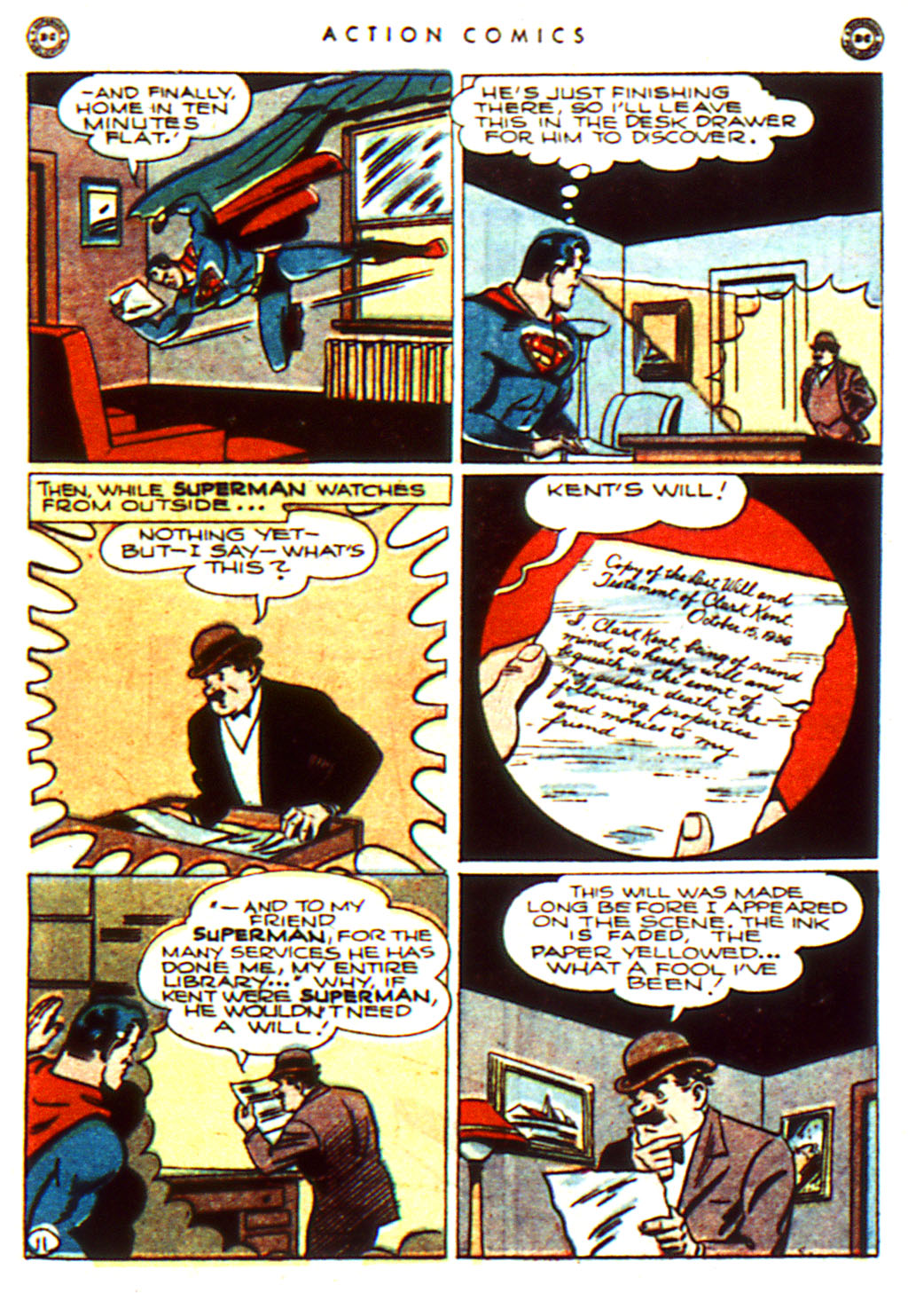Read online Action Comics (1938) comic -  Issue #100 - 13