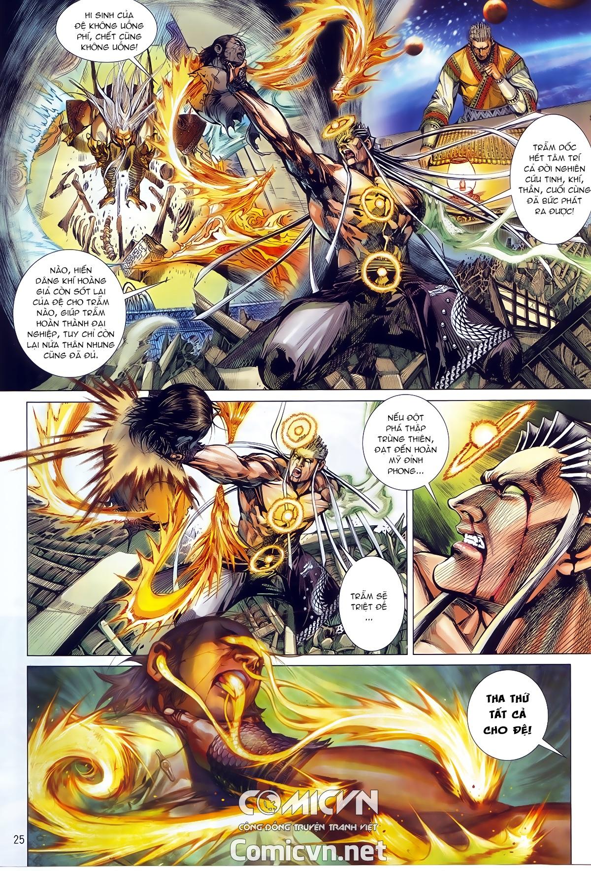 Thiết Tướng Tung Hoành chap 245 - Trang 22