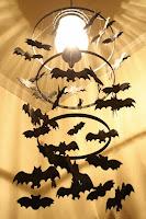 decorar con murcielagos para noche de brujas