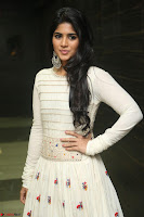 Megha Akash in beautiful White Anarkali Dress at Pre release function of Movie LIE ~ Celebrities Galleries 033.JPG