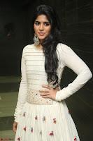 Megha Akash in beautiful White Anarkali Dress at Pre release function of Movie LIE ~ Celebrities Galleries 033.JPG