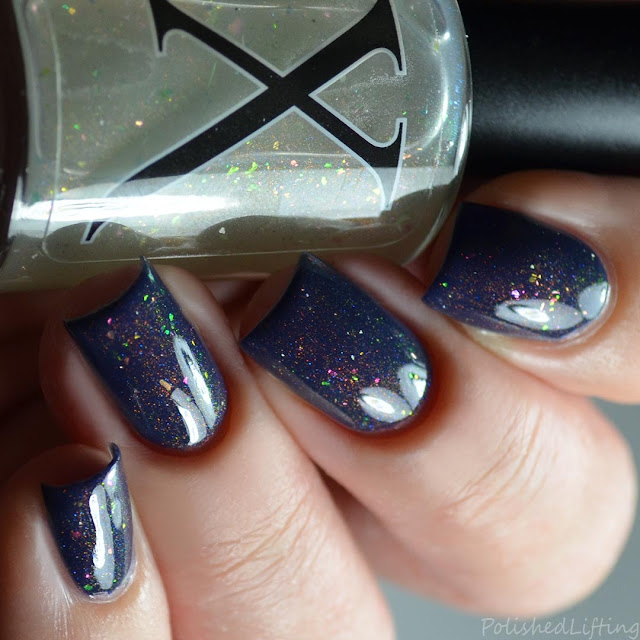 unicorn pee color shifting top coat