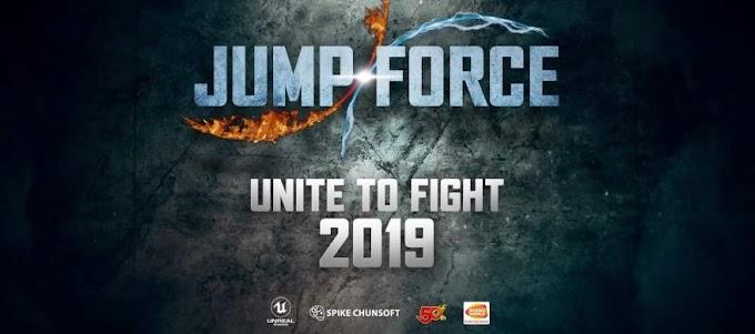 Jump Force | anunciado o game crossover entre grandes animes