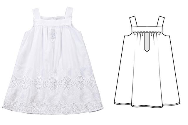 burda haziran 2018 kız çocuk elbise