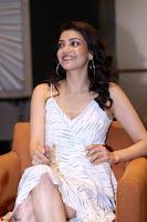 Kajal Aggarwal sizzles in Black Deep Neck Dress ~  Exclusive 003.jpg