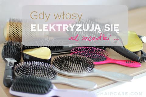 Włosy elektryzują się od szczotki lub grzebienia? Jest na to sposób. - czytaj dalej »