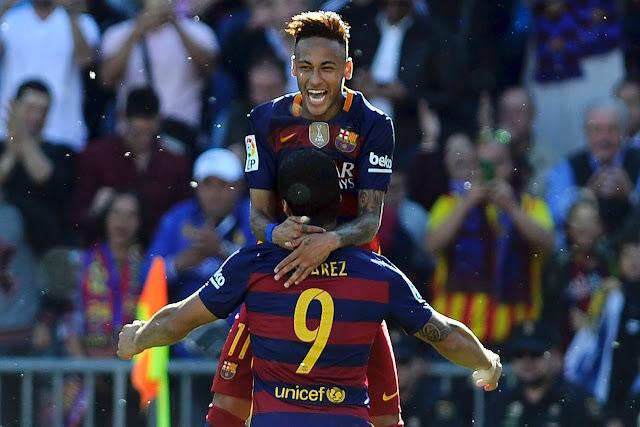 Barcelona Juara La Liga 2015/2016