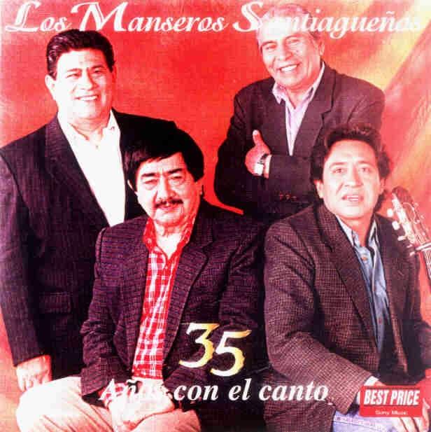 los manseros santiagueños tapa 35 años con el canto