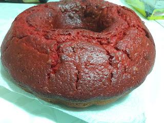 gül suyuyla kek yapımı