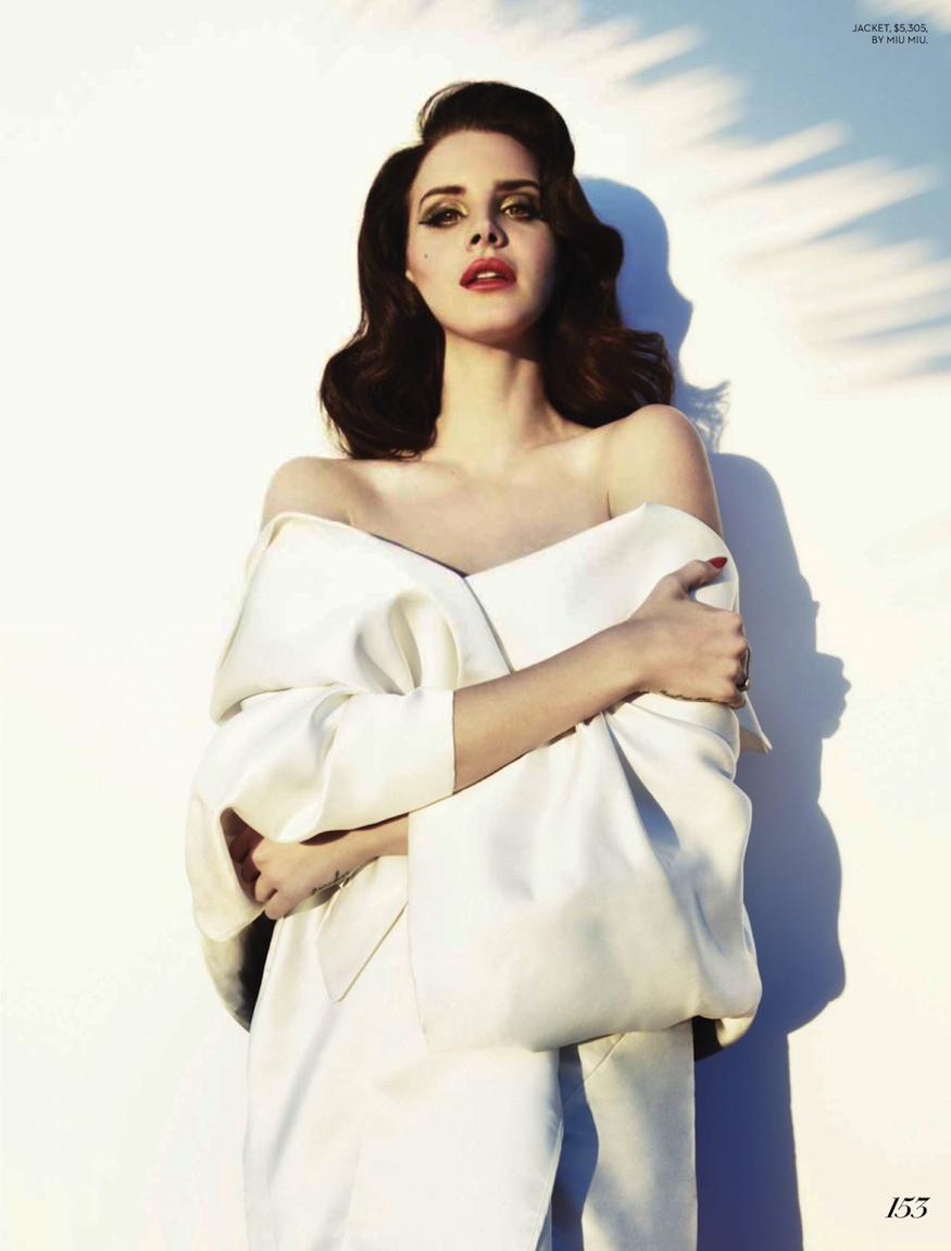 Smile: Fashion Magazine Summer 2013: Lana Del Rey By Mark