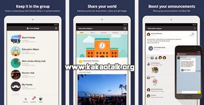 Chats grupales con KakaoGroup para Android
