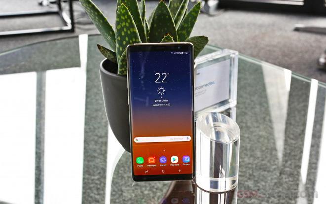Galaxy Note 8 được đánh giá là smartphone có màn hình hiển thị tốt nhất