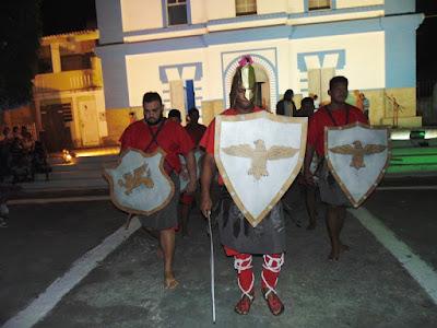 Encenação da Paixão de Cristo reúne centenas de pessoas em Riachuelo