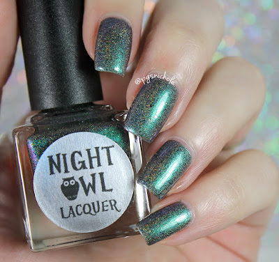 Night Owl Lacquer Banshee Scream • Polish Pickup October 2017 • Monsters and Myths