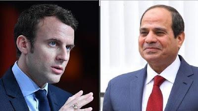 الرئيس عبد الفتاح السيسي ونظيرة الفرنسى