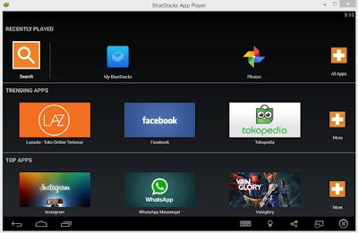 5+ Emulator Android Terbaik dan Ringan untuk Laptop atau PC