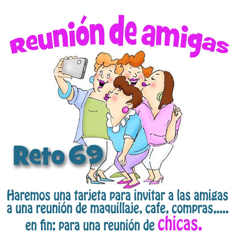 Hilda Designs Reto De Mayo En Scc Tarjeta Reunión De Amigas